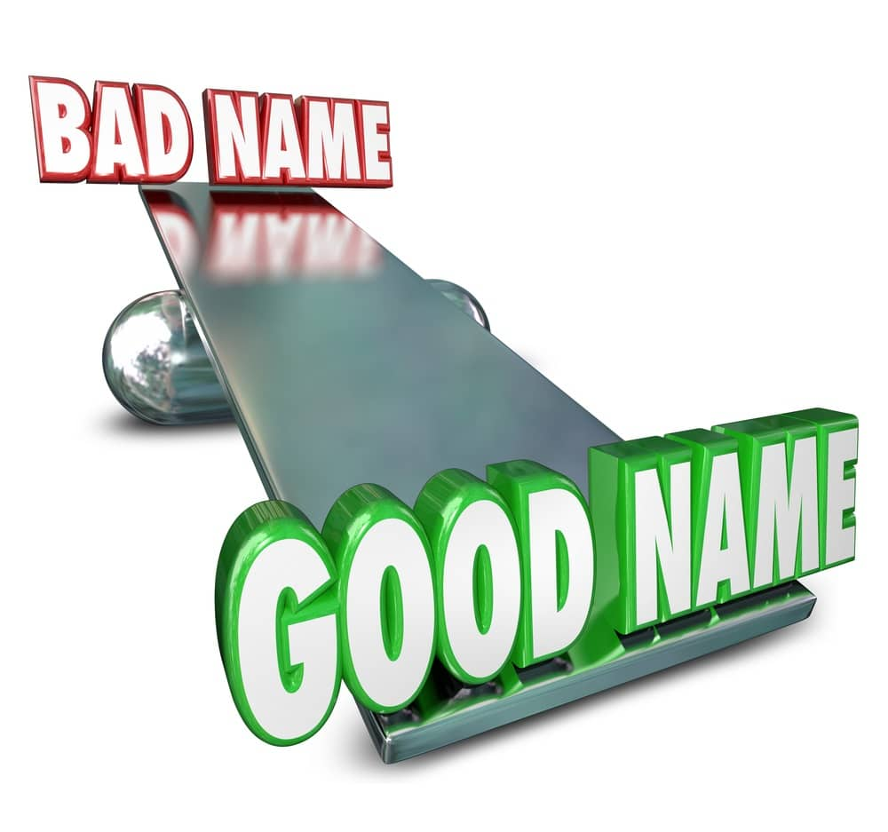 Develop a good name