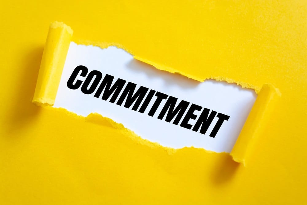 Commitments in brand marketing