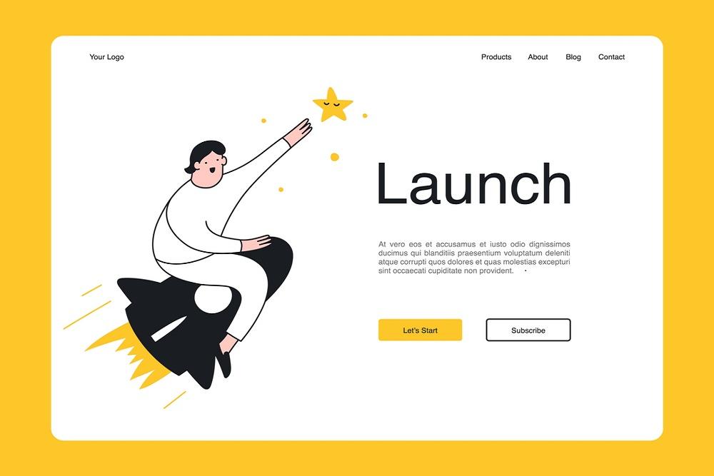 Homepage building website