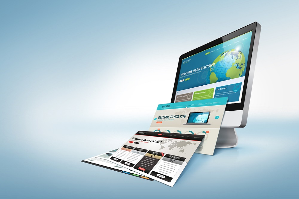 build a website and layout