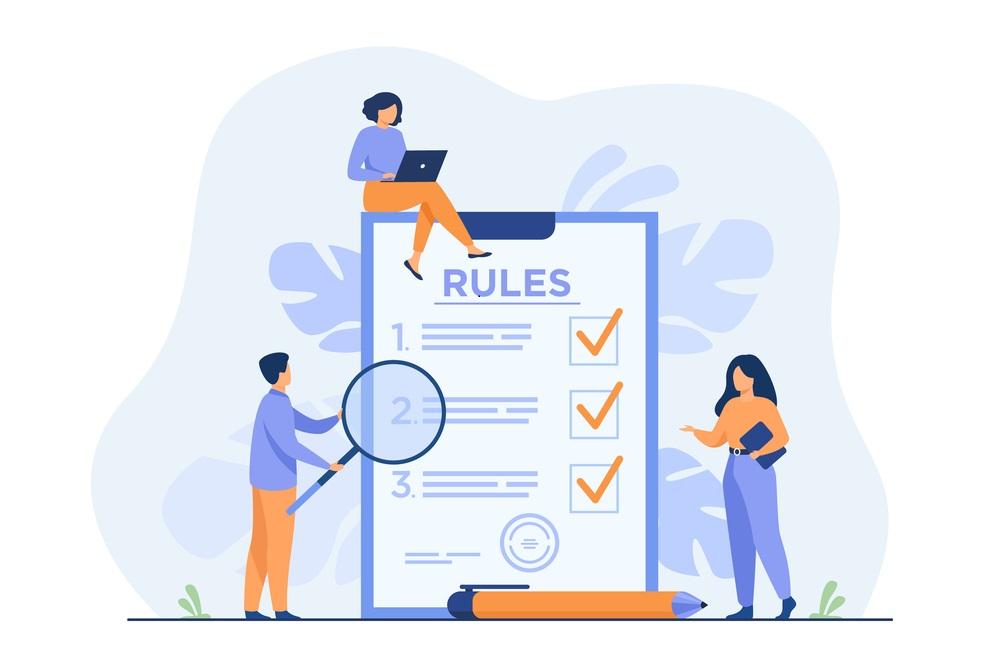 Rules of UI design