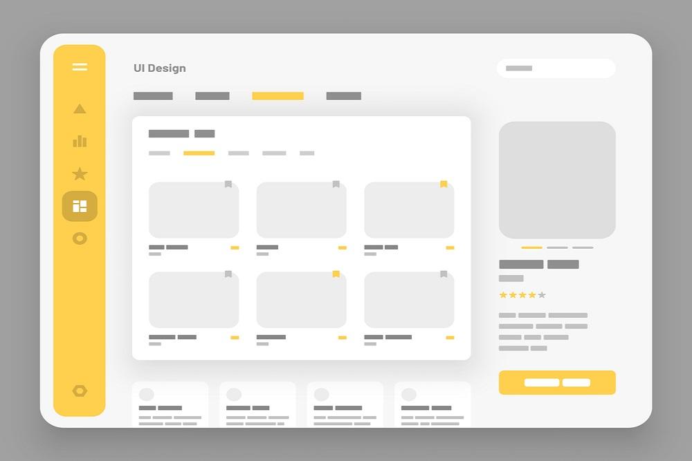 Menu based interface