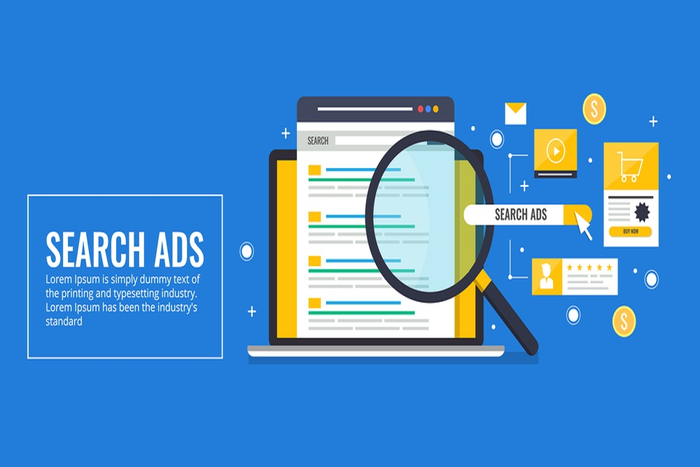 Search PPC ads sample