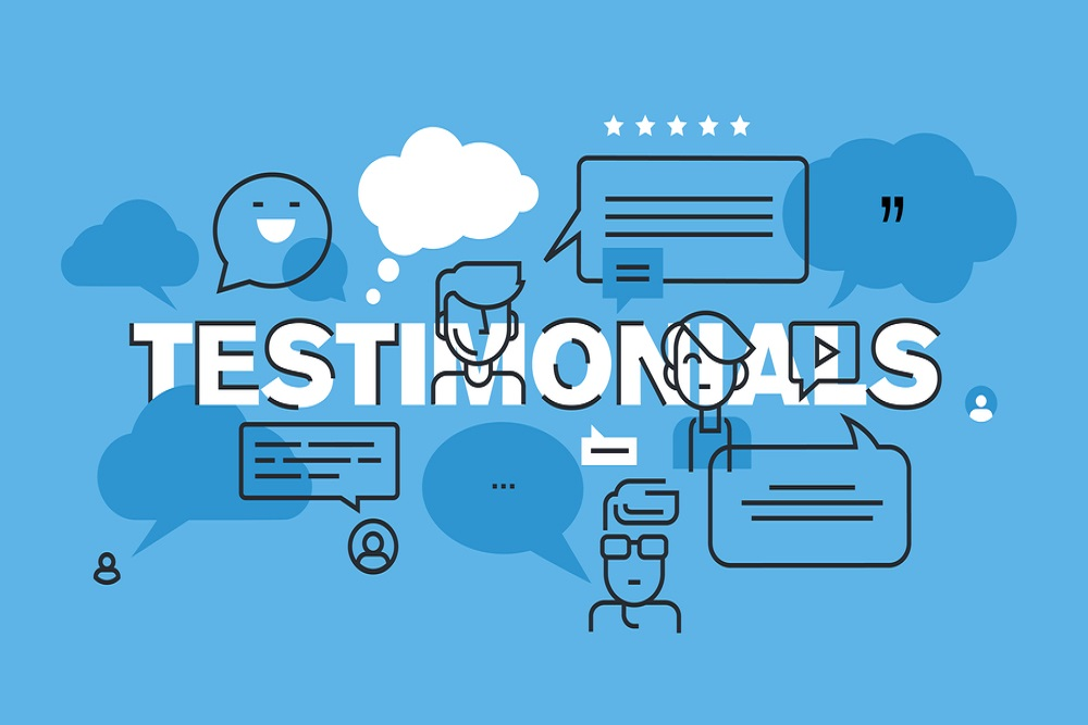 Testimonials pages
