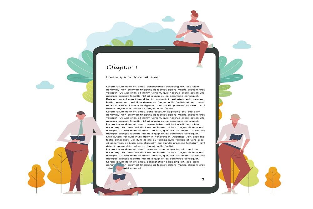 Publication Graphic Design sample