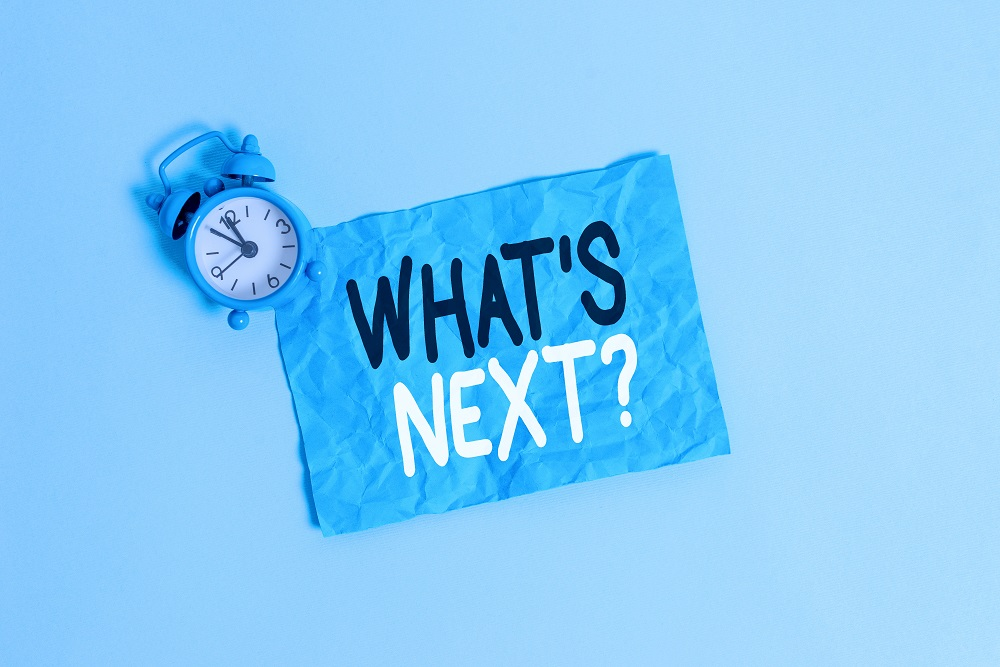 clock and what is next written